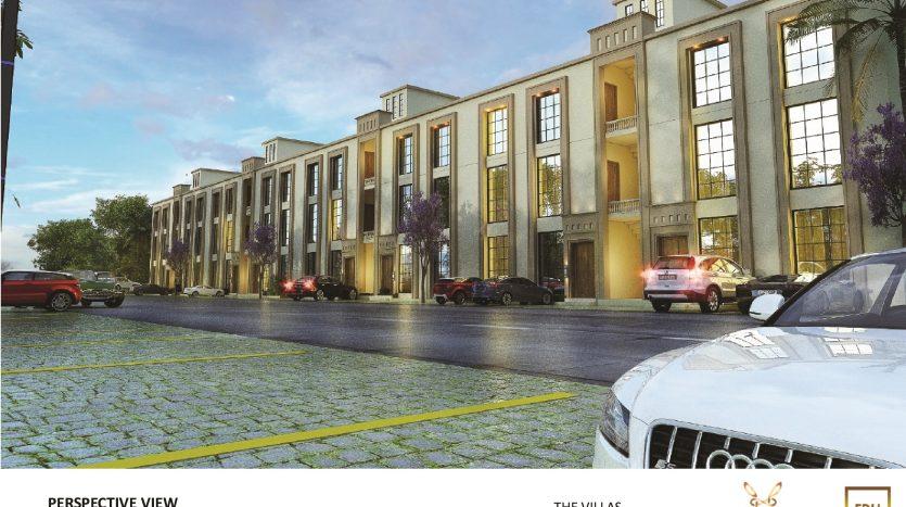 5 Marla Villa Apartment Front View