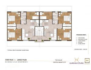 boutique villas 5 marla floor plan