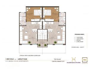 3.5 Marla 660 Sq.ft Villa Apartment