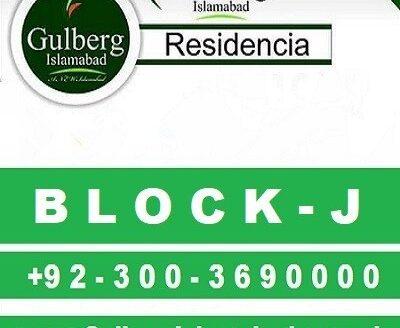 Gulberg Residencia Block J