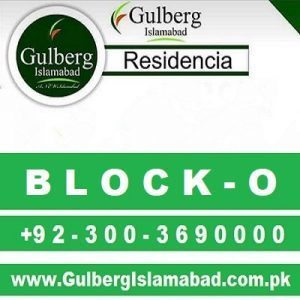 Gulberg Residencia Block o